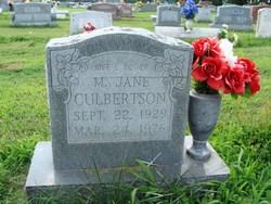 Margaret Jane <i>Middleton</i> Culbertson