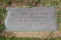 Capt Everette M. Porter