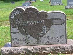 Minnie F <i>Wallick</i> Dunavin