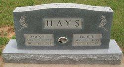 Lola Ethel <i>Pedigo</i> Hays