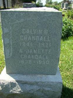 Arthusa Jeanette <i>Langworthy</i> Crandall