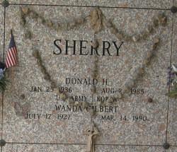Donald H Sherry