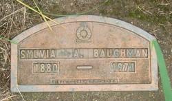 Sylvia Ann <i>Morgan</i> Baughman