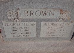 Frances Lillian <i>Brewer</i> Brown