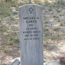 Miguel A Garza