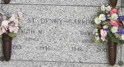 Ruth M <i>Mashaw</i> St Denny