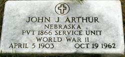 John J Arthur