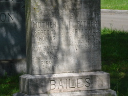 Rebecca <i>Thomas</i> Bailes