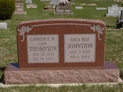 Lola Mae <i>Thompson</i> Johnston
