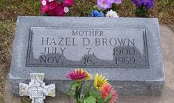 Hazel D. <i>Thornberry</i> Brown