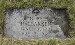 Ella C. Bergum-Halbakken
