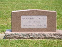 Cecil Anthony Bittick