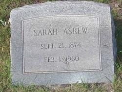 Sarah O'Neal <i>Harrington</i> Askew