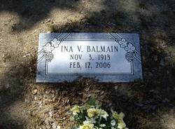 Ina V. Balmain