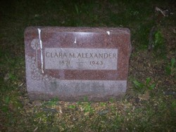 Clara M Alexander