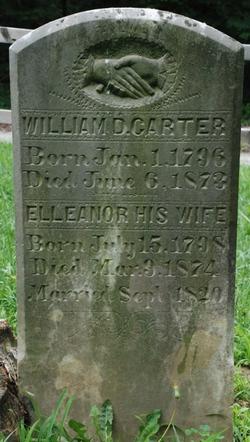 Capt William Davisson Carter, Sr