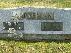 Carrie <i>Myers</i> Appleman