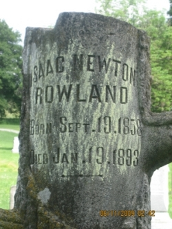 Isaac Newton Rowland