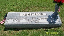 Luther Adolph Armstrong, Sr