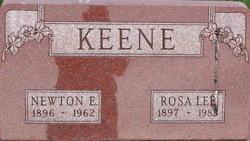 Newton E Keene