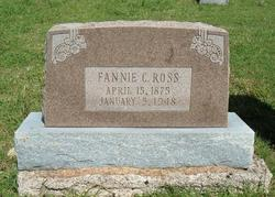 Fannie C. <i>Wilburn</i> Ross