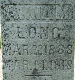 Anna Mary <i>Miller</i> Long