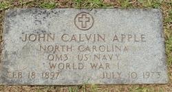 John Calvin Apple