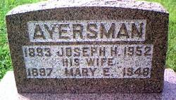 Edna Mary <i>Felton</i> Ayersman