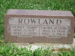 Henry Hampton Hamp Rowland