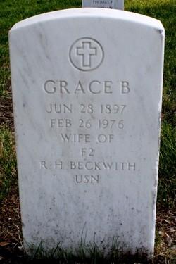 Grace <i>Bowman</i> Beckwith