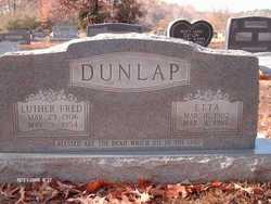 Luther Fred Dunlap