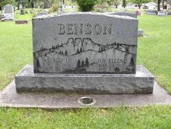 Alfred Otto Benson