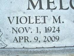 Violet Mae <i>Edmison</i> Melcher