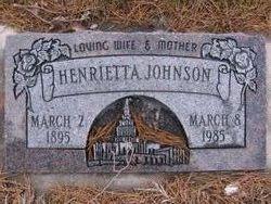 Krista Henrietta <i>Madsen</i> Johnson