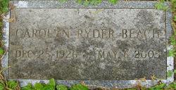 Carolyn <i>Ryder</i> Beach