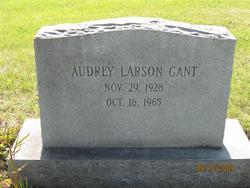 Audrey <i>Larson</i> Gant