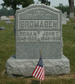 Pvt John T. Bromagen