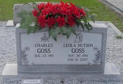 Lizzie Leola Pete <i>Hutson</i> Goss