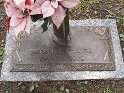 Leona S. <i>Chaplin</i> Carter