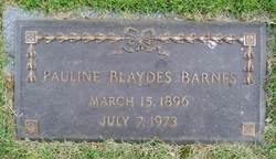 Pauline <i>Blaydes</i> Barnes