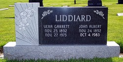 Vera <i>Garrett</i> Liddiard