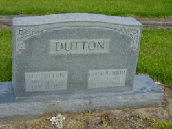 Gertrude <i>Wallis</i> Dutton
