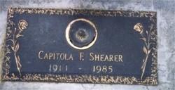 Capitola Ester <i>Friddle</i> Shearer