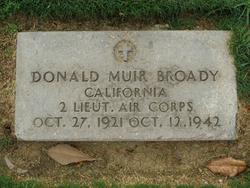 Lieut Donald Muir Broady