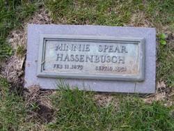 Minnie <i>Spear</i> Hassenbusch