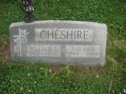 Sarah I <i>Williams</i> Cheshire