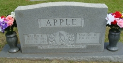 Walter Everette Apple