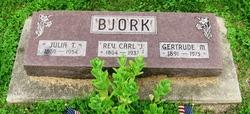 Gertrude M Bjork