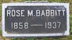 Rose <i>Mitchell</i> Babbitt