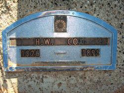 Hiram Washington Wash Cox